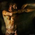 La Creación de Adan © Aurelio Monge