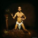 Sebastián un soldado romano © Aurelio Monge